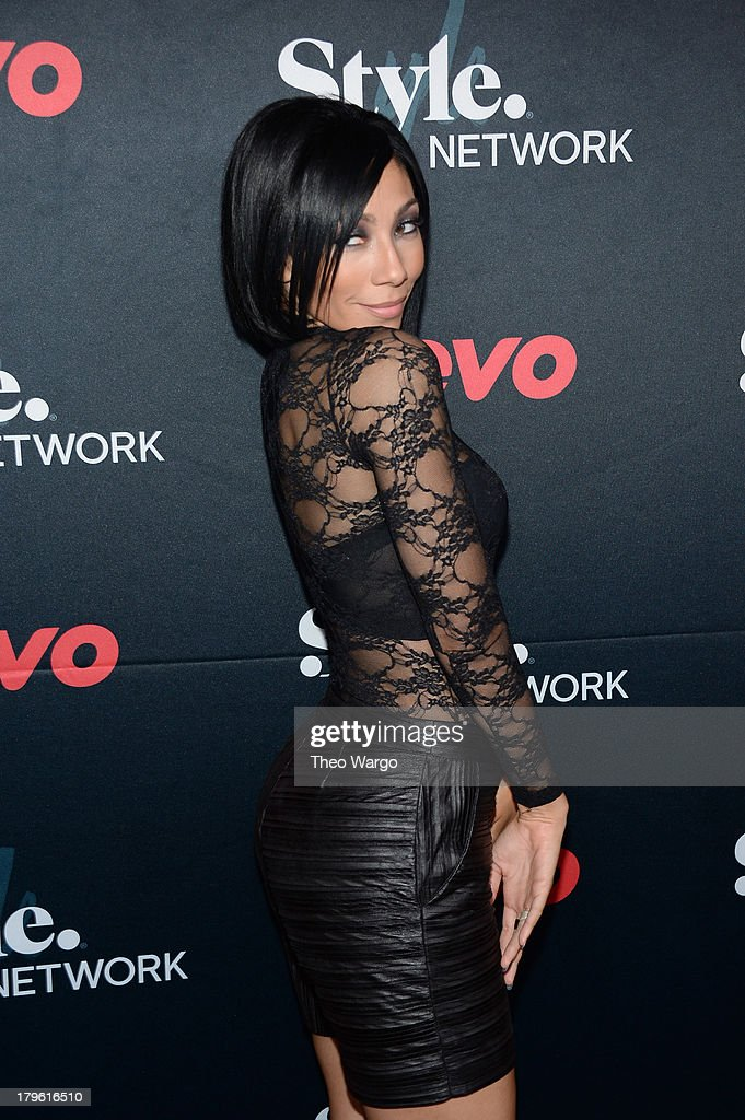Singer Bridget Kelly attends the VEVO and Styled To Rock Celebration Hosted by Actress, Model and Styled to Rock Mentor Erin Wasson with Performances by Bridget Kelly & Cazzette on September 5, 2013 in New York City.