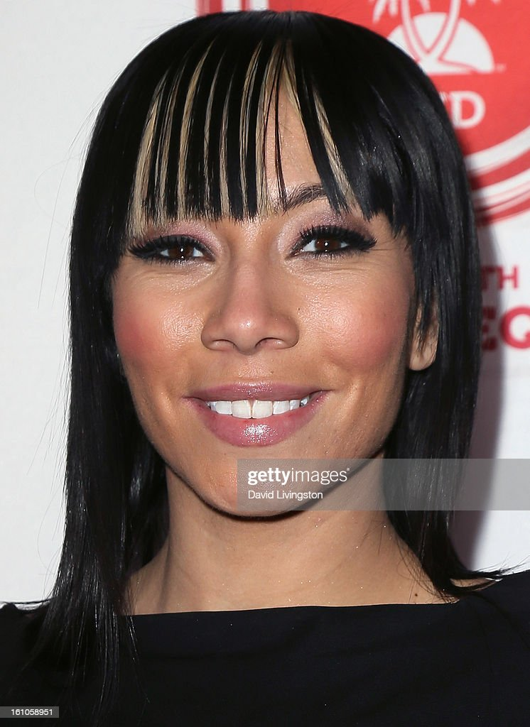 Singer Bridget Kelly attends VIBE's 20th Anniversary Celebration and Inaugural Impact Awards at the Sunset Tower Hotel on February 8, 2013 in West Hollywood, California.