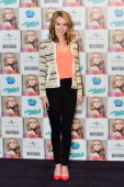 Singer Bridgit Mendler presents her new album 'Hello My Name Is' at the Hotel ME on February 25 2013 in Madrid Spain