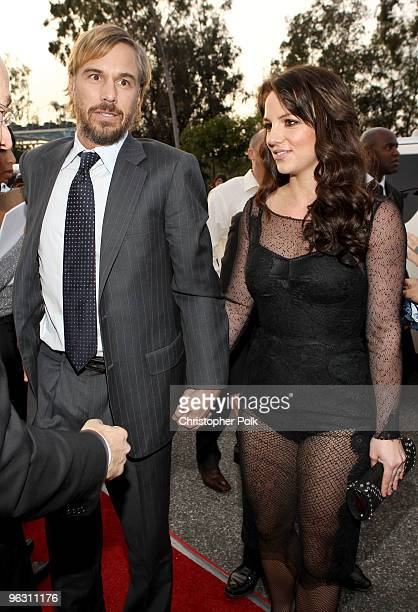 Singer Britney Spears and Jason Trawick arrive at the 52nd Annual GRAMMY Awards held at Staples Center on January 31 2010 in Los Angeles California