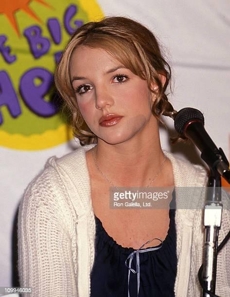 Singer Britney Spears announces new charity with The Giving Back Fund The Britney Spears Foundation on November 22 1999 at the Hollywood Palladium in...