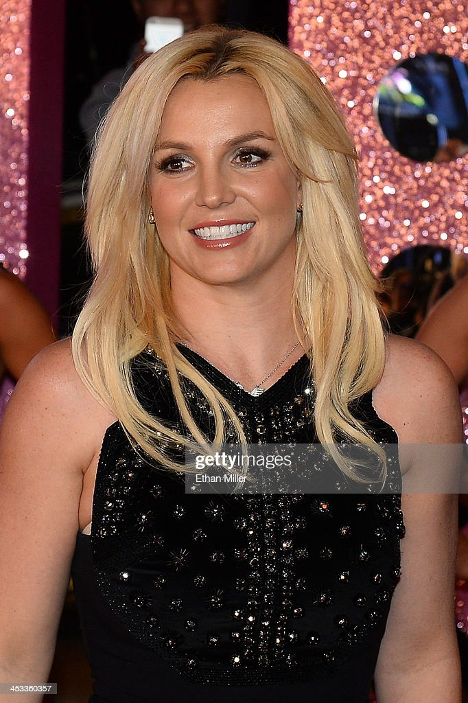 Singer Britney Spears arrives at a welcome ceremony as she celebrates the release of her new album 'Britney Jean' and prepares for her two-year residency at Planet Hollywood Resort & Casino on December 3, 2013 in Las Vegas, Nevada. Spears' show 'Britney: Piece of Me' will debut at the resort on December 27, 2013.