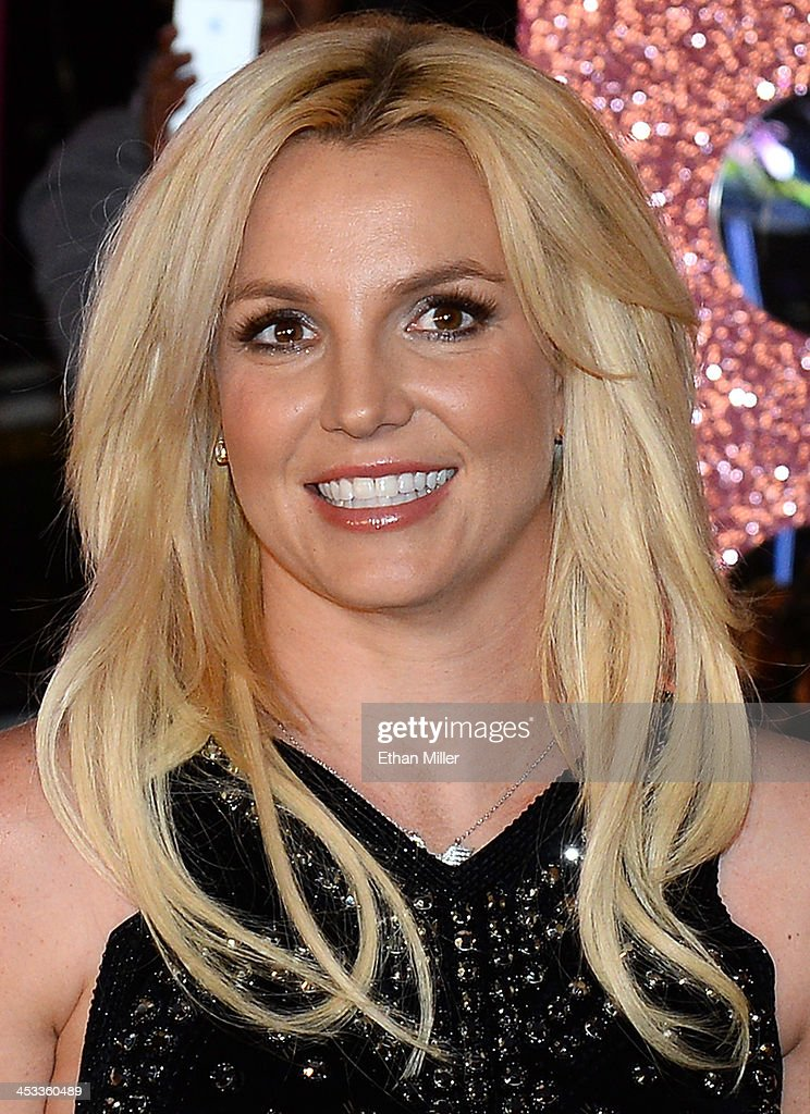 Singer <a gi-track='captionPersonalityLinkClicked' href=/galleries/search?phrase=Britney+Spears&family=editorial&specificpeople=156415 ng-click='$event.stopPropagation()'>Britney Spears</a> arrives at a welcome ceremony as she celebrates the release of her new album 'Britney Jean' and prepares for her two-year residency at Planet Hollywood Resort & Casino on December 3, 2013 in Las Vegas, Nevada. Spears' show 'Britney: Piece of Me' will debut at the resort on December 27, 2013.