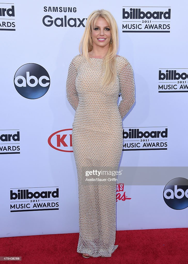 Singer <a gi-track='captionPersonalityLinkClicked' href=/galleries/search?phrase=Britney+Spears&family=editorial&specificpeople=156415 ng-click='$event.stopPropagation()'>Britney Spears</a> arrives at the 2015 Billboard Music Awards at MGM Garden Arena on May 17, 2015 in Las Vegas, Nevada.