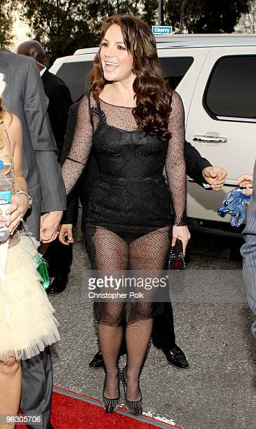 Singer Britney Spears arrives at the 52nd Annual GRAMMY Awards held at Staples Center on January 31 2010 in Los Angeles California