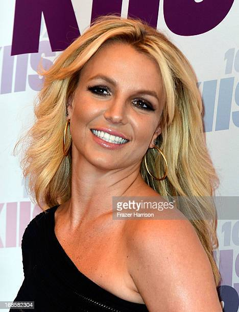 Singer Britney Spears attends 1027 KIIS FM's Wango Tango 2013 held at The Home Depot Center on May 11 2013 in Carson California