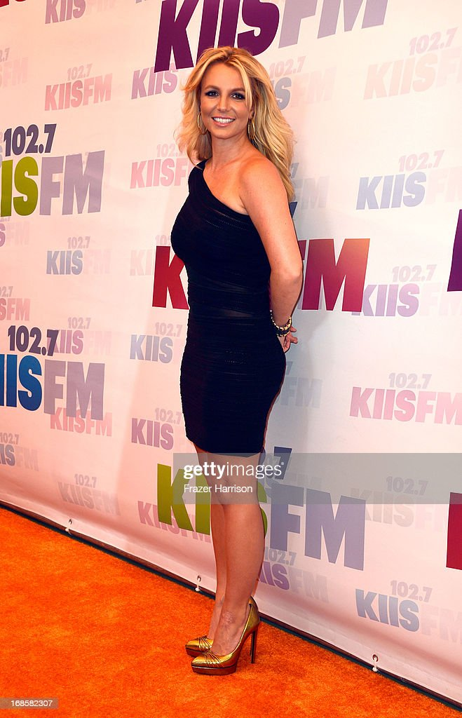 Singer Britney Spears attends 102.7 KIIS FM's Wango Tango 2013 held at The Home Depot Center on May 11, 2013 in Carson, California.