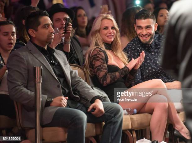 Singer Britney Spears attends Art Hearts Fashion LAFW Fall/Winter 2017 Day 3 at The Beverly Hilton Hotel on March 16 2017 in Beverly Hills California