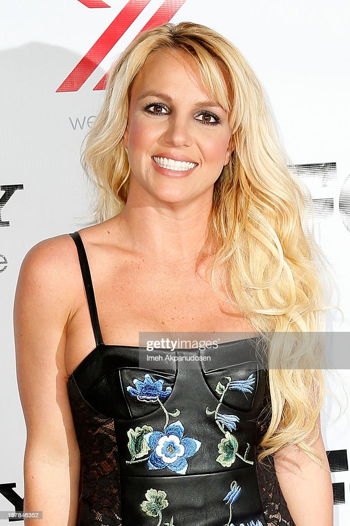 Singer <a gi-track='captionPersonalityLinkClicked' href=/galleries/search?phrase=Britney+Spears&family=editorial&specificpeople=156415 ng-click='$event.stopPropagation()'>Britney Spears</a> attends Fox's 'The X Factor' viewing party at Mixology101 & Planet Dailies on December 6, 2012 in Los Angeles, California.