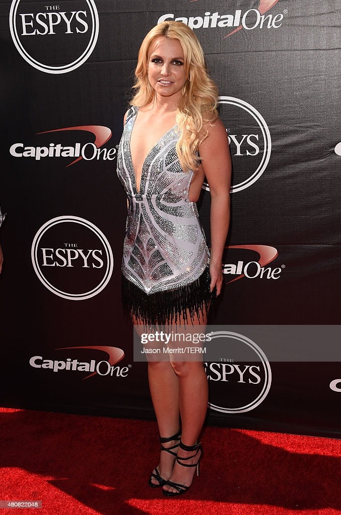 Singer <a gi-track='captionPersonalityLinkClicked' href=/galleries/search?phrase=Britney+Spears&family=editorial&specificpeople=156415 ng-click='$event.stopPropagation()'>Britney Spears</a> attends The 2015 ESPYS at Microsoft Theater on July 15, 2015 in Los Angeles, California.