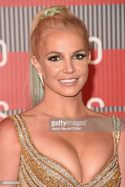 Singer Britney Spears attends the 2015 MTV Video Music Awards at Microsoft Theater on August 30 2015 in Los Angeles California