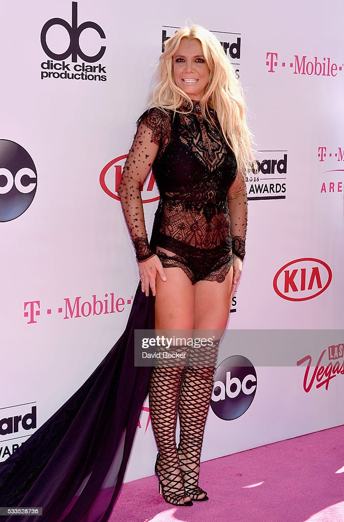 Singer <a gi-track='captionPersonalityLinkClicked' href=/galleries/search?phrase=Britney+Spears&family=editorial&specificpeople=156415 ng-click='$event.stopPropagation()'>Britney Spears</a> attends the 2016 Billboard Music Awards at T-Mobile Arena on May 22, 2016 in Las Vegas, Nevada.