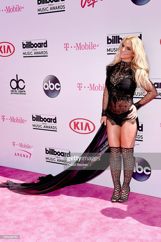 Singer Britney Spears attends the 2016 Billboard Music Awards at TMobile Arena on May 22 2016 in Las Vegas Nevada