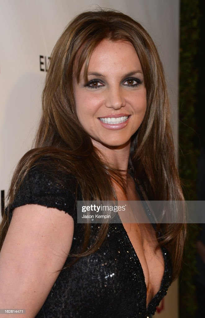 Singer Britney Spears attends the 21st Annual Elton John AIDS Foundation Academy Awards Viewing Party at West Hollywood Park on February 24, 2013 in West Hollywood, California.