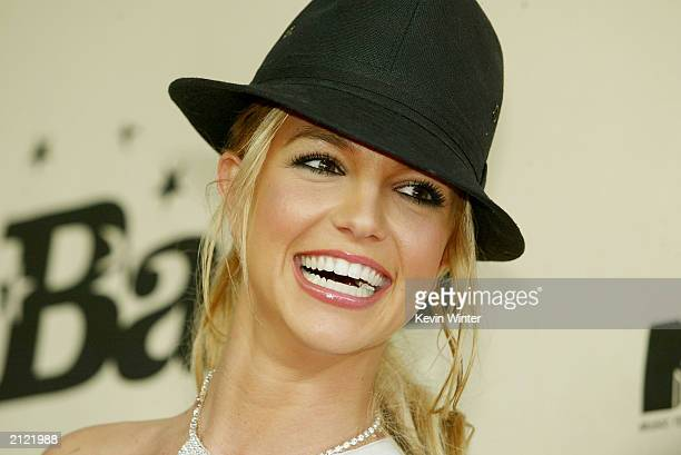 Singer Britney Spears attends the MTV Bash at the Hollywood Palladium on June 28 2003 in Hollywood California