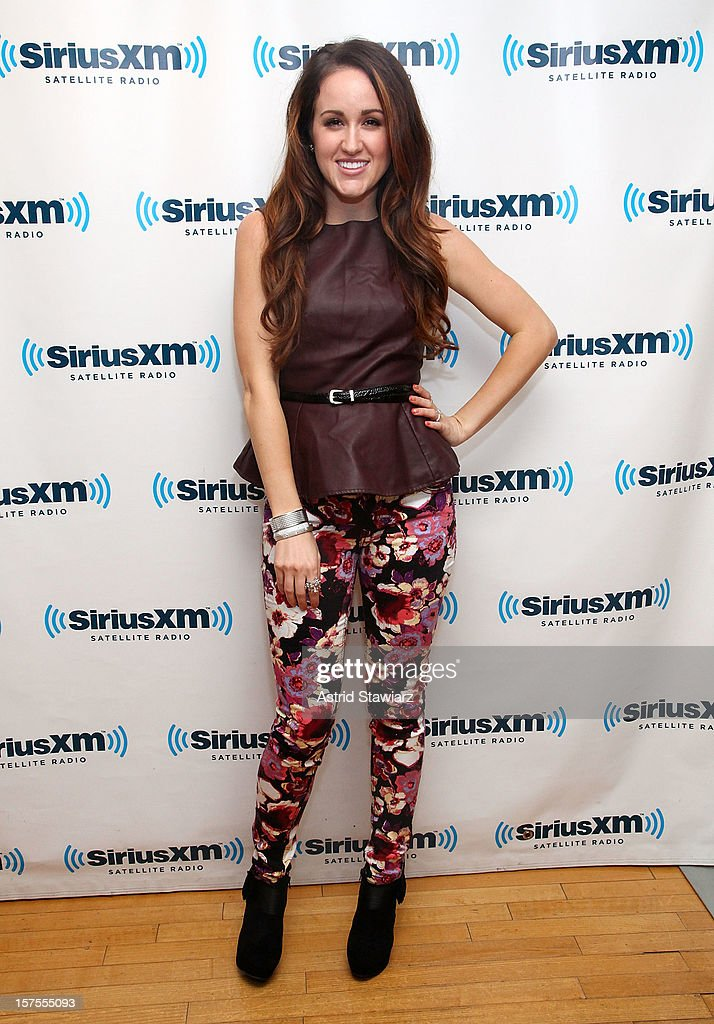 Singer Britt Nicole visits the SiriusXM Studios on December 4, 2012 in New York City.