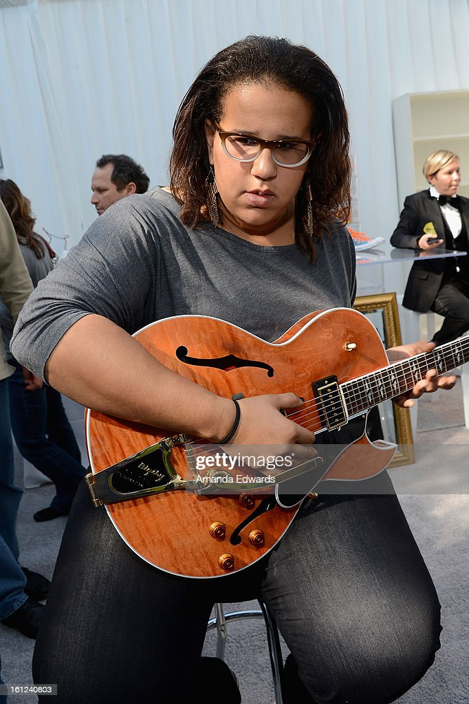 Singer Brittany Howard of the Alabama Shakes attends the GRAMMY Gift Lounge during the 55th Annual GRAMMY Awards at STAPLES Center on February 9, 2013 in Los Angeles, California.