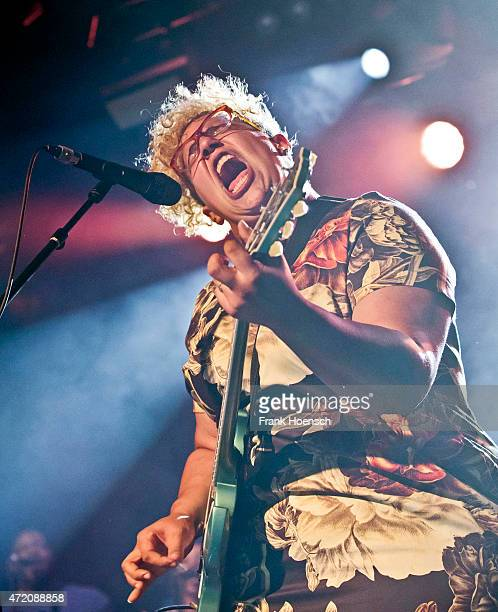 Singer Brittany Howard of the American band Alabama Shakes performs live during a concert at the Astra on May 3 2015 in Berlin Germany