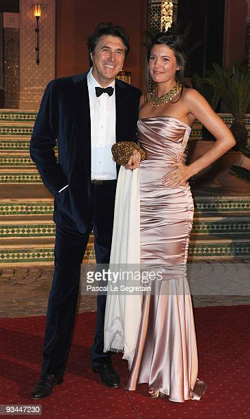 Singer Bryan Ferry attends the Mamounia hotel inauguration on November 26 2009 in Marrakech Morocco