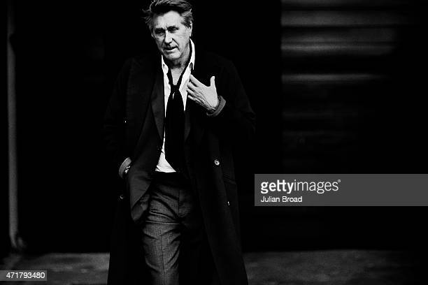 Singer Bryan Ferry is photographed for L'Officiel Hommes Germany on February 11 2015 in London England