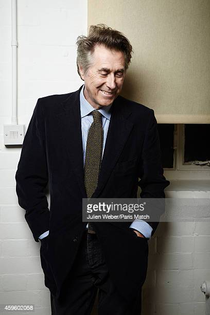Singer Bryan Ferry is photographed for Paris Match on October 13 2014 in London England