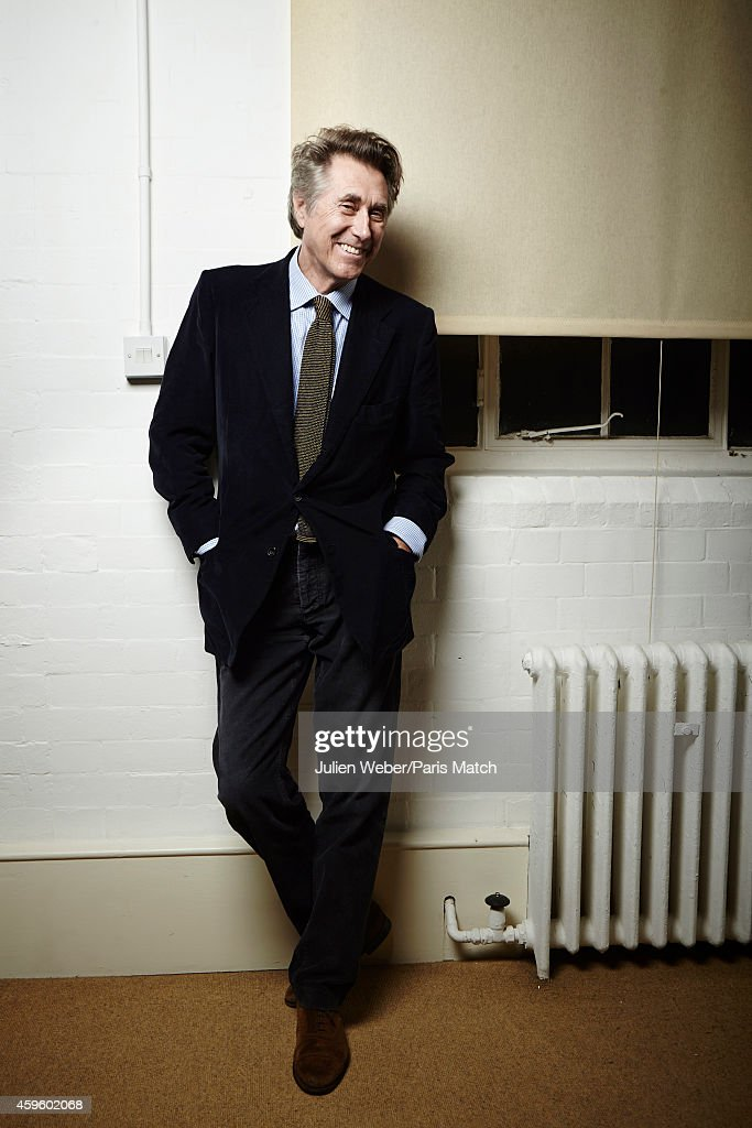 Singer Bryan Ferry is photographed for Paris Match on October 13, 2014 in London, England.