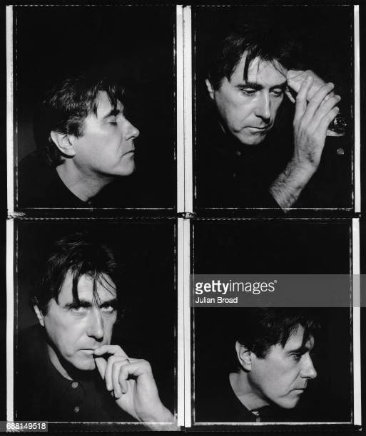 Singer Bryan Ferry is photographed in London England