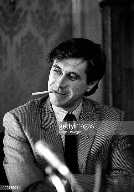 Singer Bryan Ferry of Roxy Music in Amsterdam 1976