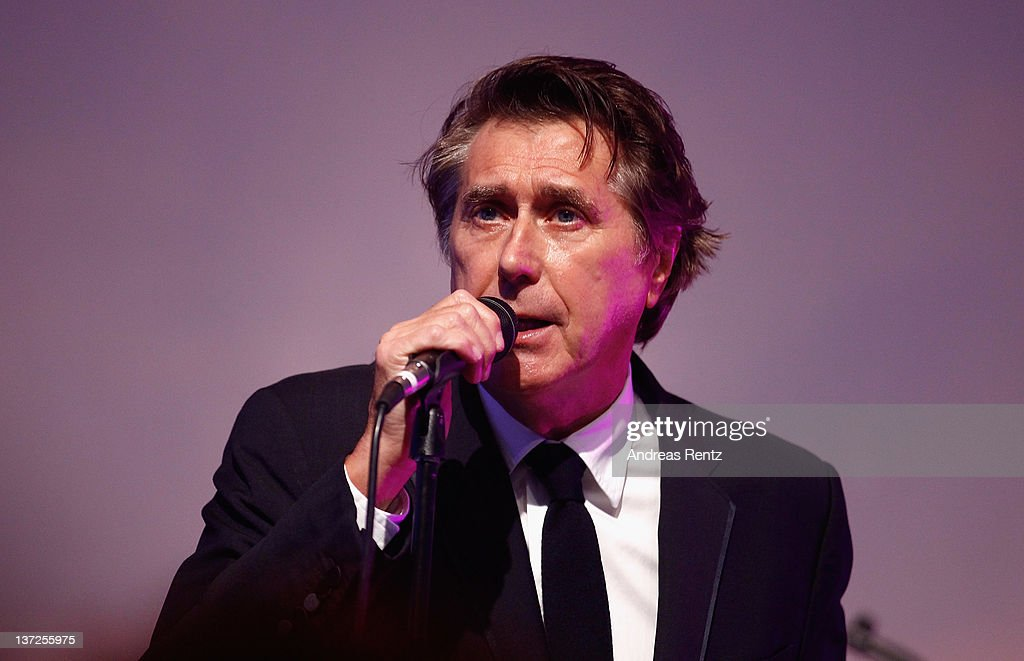 Singer <a gi-track='captionPersonalityLinkClicked' href=/galleries/search?phrase=Bryan+Ferry&family=editorial&specificpeople=206306 ng-click='$event.stopPropagation()'>Bryan Ferry</a> perfoems on stage at the IWC Schaffhausen Top Gun Gala Event during the 22nd SIHH High Jewellery Fair at the Palexpo Exhibition Hall on January 17, 2012 in Geneva, Switzerland.