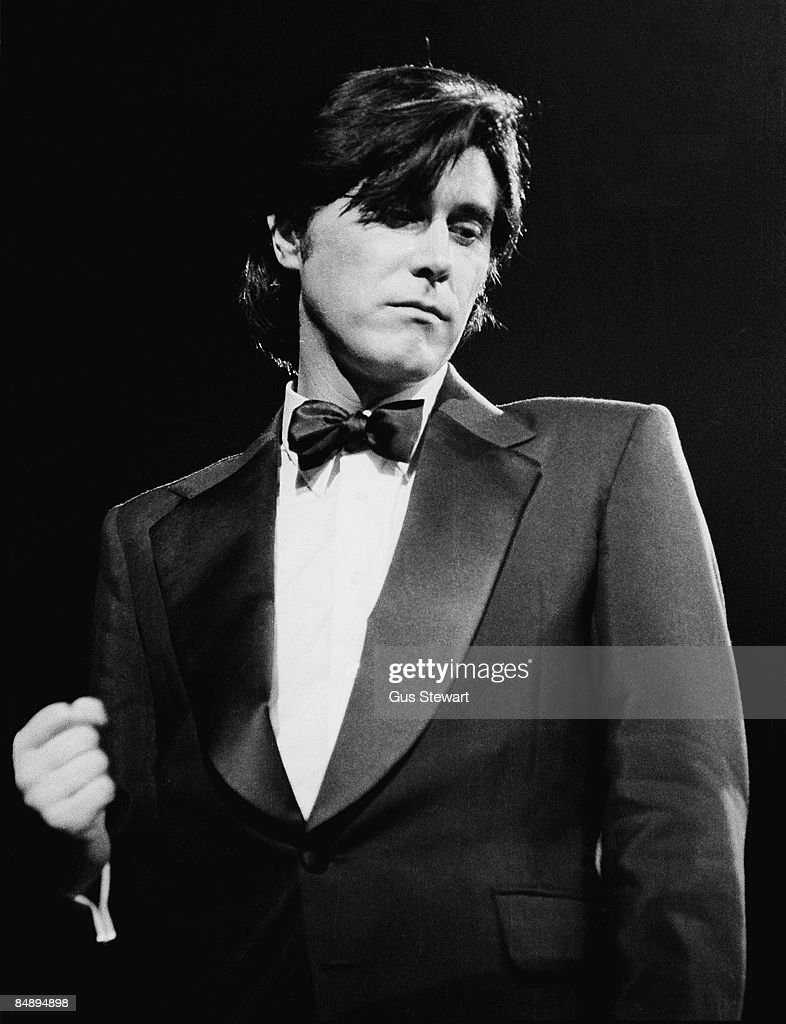 HALL Photo of Bryan FERRY, performing live onstage at first London solo concert