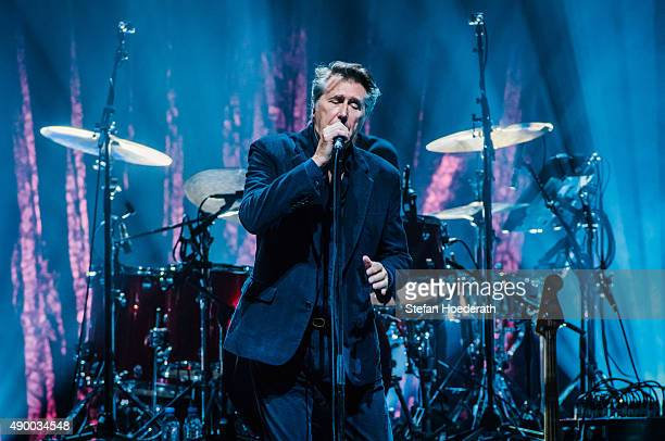 Singer Bryan Ferry performs live on stage during a concert at Tempodrom on September 25 2015 in Berlin Germany