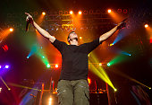 Singer Cal Shapiro of Timeflies performs in concert at Terminal 5 on October 10 2015 in New York City