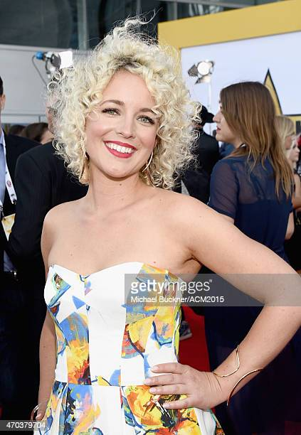 Singer Cam attends the 50th Academy of Country Music Awards at ATT Stadium on April 19 2015 in Arlington Texas