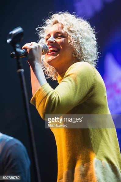 Singer Cam performs on stage during the Hometown Holiday show hosted by 1007 The Wolf at ShoWare Center on December 9 2015 in Kent Washington