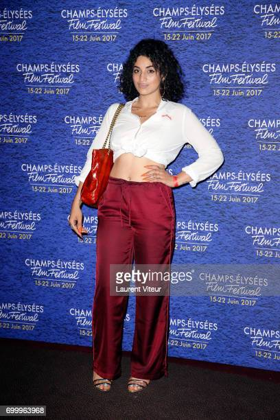 Singer Camelia Jordana attends Closing Ceremony of 6th Champs Elysees Film Festival on June 22 2017 in Paris France