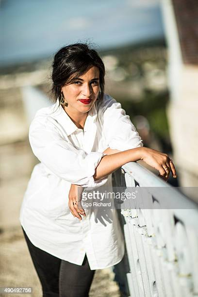 Singer Camelia Jordana is photographed for Gala on August 31 2015 in Angouleme France