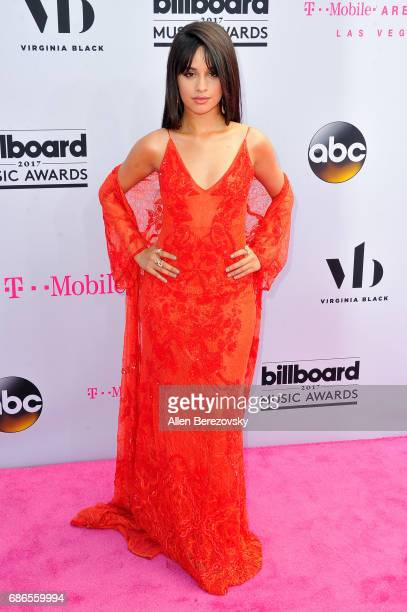 Singer Camila Cabello arrives at 2017 Billboard Music Awards at TMobile Arena on May 21 2017 in Las Vegas Nevada