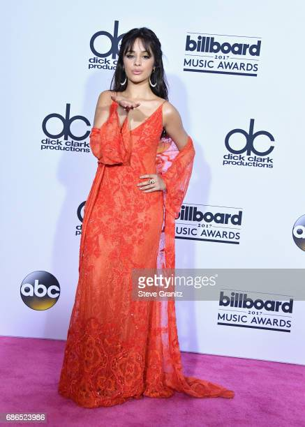 Singer Camila Cabello attends the 2017 Billboard Music Awards at TMobile Arena on May 21 2017 in Las Vegas Nevada
