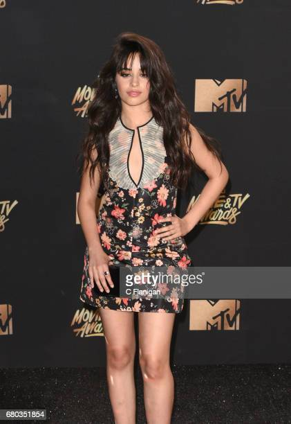 Singer Camila Cabello attends the 2017 MTV Movie and TV Awards at The Shrine Auditorium on May 7 2017 in Los Angeles California