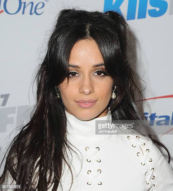 Singer Camila Cabello of Fifth Harmony arrive at 1027 KIIS FM's Jingle Ball 2016 at Staples Center on December 2 2016 in Los Angeles California