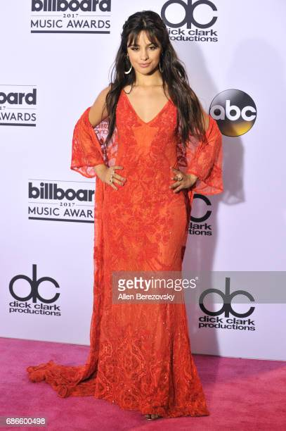 Singer Camila Cabello poses in the press room during 2017 Billboard Music Awards at TMobile Arena on May 21 2017 in Las Vegas Nevada