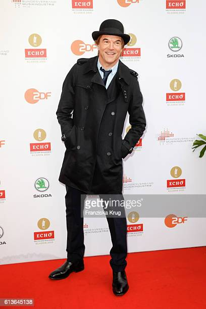 Singer Campino attends the ECHO Klassik 2016 at Konzerthaus Am Gendarmenmarkt on October 09 2016 in Berlin Germany