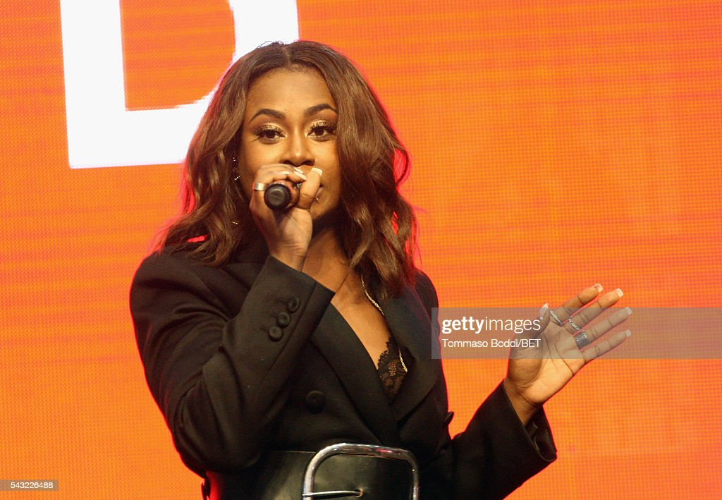 Singer Candice Boyd performs onstage at the Coke music studio during the 2016 BET Experience on June 26, 2016 in Los Angeles, California.