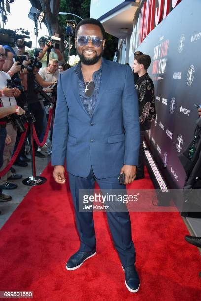 Singer Carl Thomas attends the Los Angeles Premiere of Apple Music's CAN'T STOP WON'T STOP A BAD BOY STORY at The WGA Theater on June 21 2017 in...