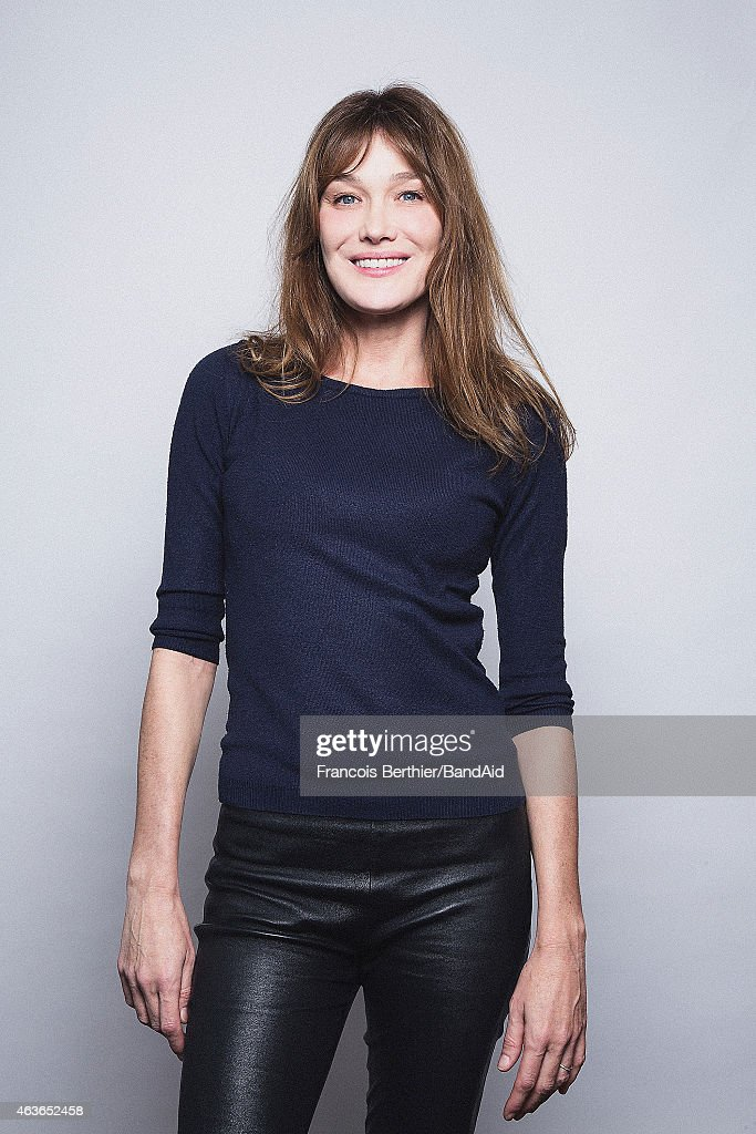 Singer <a gi-track='captionPersonalityLinkClicked' href=/galleries/search?phrase=Carla+Bruni&family=editorial&specificpeople=235729 ng-click='$event.stopPropagation()'>Carla Bruni</a> Sarkozy is photographed for Self Assignment on November 23, 2014 in Paris, France.