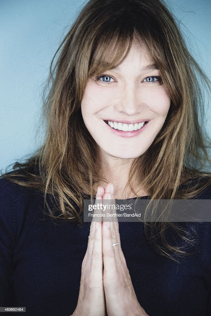 Singer Carla Bruni Sarkozy is photographed for Self Assignment on ...