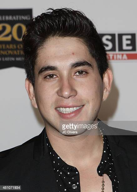 Singer Carlos Alberto Garca Villanueva AKA 'El Bebeto' attends 2014 SESAC Latina Music Awards at the Hyatt Regency Century Plaza on June 18 2014 in...