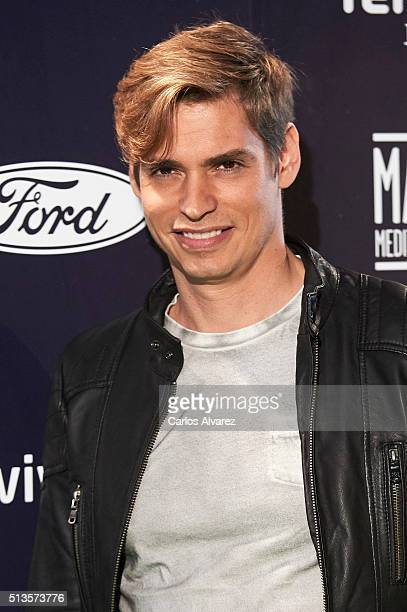 Singer Carlos Baute attends the 'Cadena Dial' 2015 awards at the Recinto Ferial on March 3 2016 in Tenerife Spain
