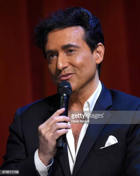 Singer Carlos Marin of Il Divo attends a news conference announcing the group's September sixshow headlining engagement 'Il Divo This is Your Night...