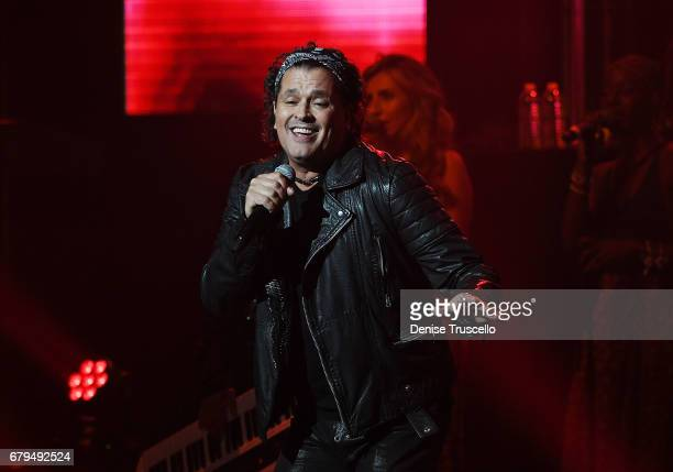 Singer Carlos Vives performs at The Pearl concert theater at Palms Casino Resort on May 5 2017 in Las Vegas Nevada